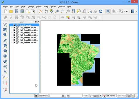 qgis clip tutorial 래스터 붙이기 mosaicing 와 자르기 clipping qgis tutorials and tips