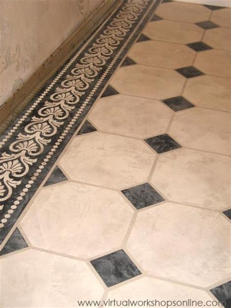 Free Floor Stencils by 61 Best Stenciled Concrete Images On Pinterest