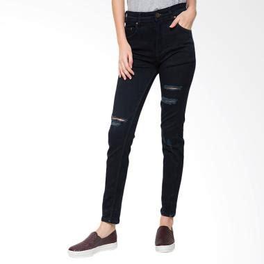 Produsen Celana Ripped Hitam Black 24 jual 2nd 233283a ripped slim fit celana wanita black harga kualitas