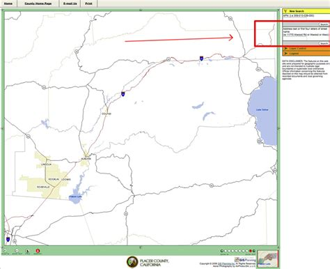 Apn Number Search By Address View Past Property Tax Bill Placer County