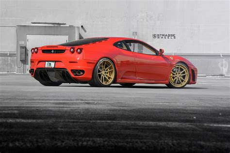 f430 wheels f430 gets new wheels from strasse carscoops
