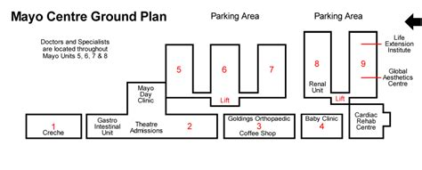 mayo clinic floor plan mayo clinic of south africa