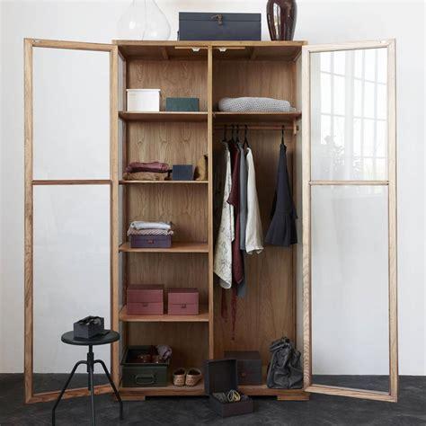 Cabinet Brun by Housedoctor Cabinet Brun Naturel Ch 234 Ne 120x55x220cm