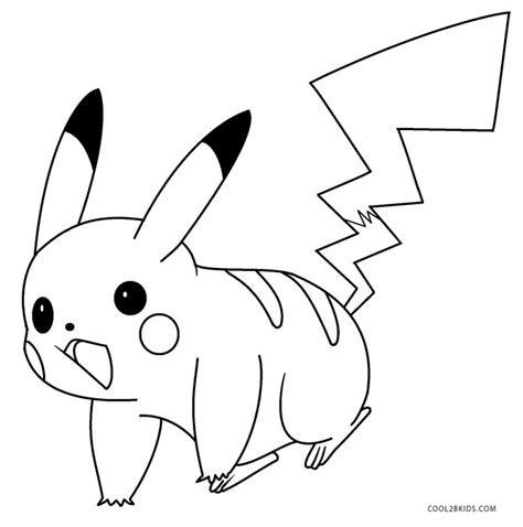 pikachu coloring pages free printable pikachu coloring pages for kids cool2bkids
