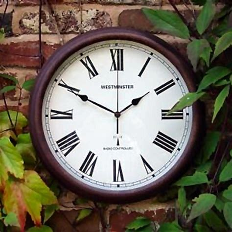 large outdoor clock outdoor atomic wall clocks outdoor
