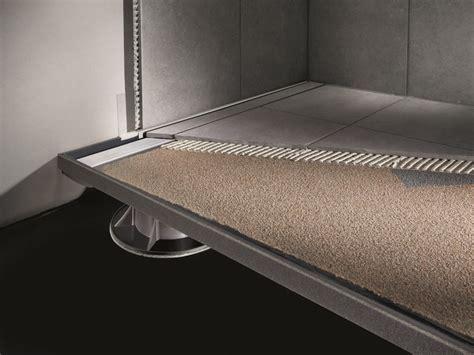 piatto doccia piastrellabile piatto doccia filo pavimento rettangolare in stile moderno