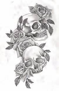 skull and rose tattoo design sugar skull with flowers recherche skull