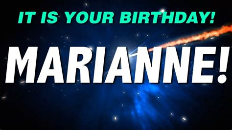 marianne design happy birthday happy birthday marianne this is your gift youtube