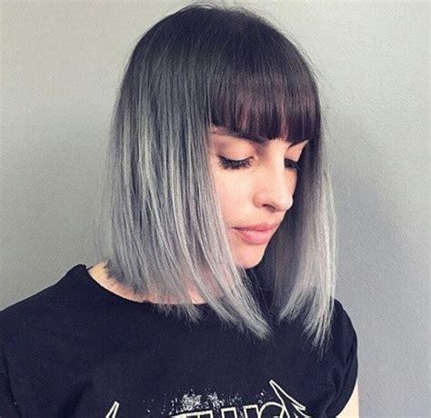 imgenes de cabellos teidos de gris tendencia cabello gris c 243 mo te 241 ir el pelo de gris