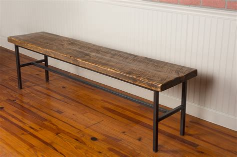 metal dining bench industrial farm metal dining bench napa east