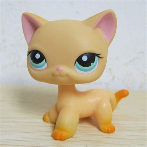 littlest pet shop cat collection short hair cats youtube littlest pet shop collection lps toy 339 yellow short