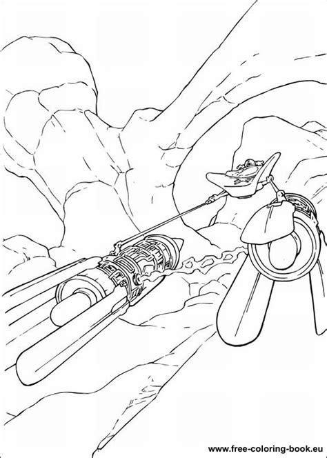 Free Coloring Pages Of Star Wars Battle Ships Starwars Coloring Pages