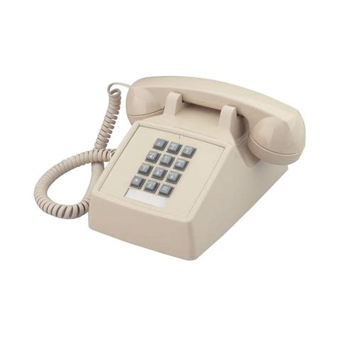 cortelco corded telephone with volume itt
