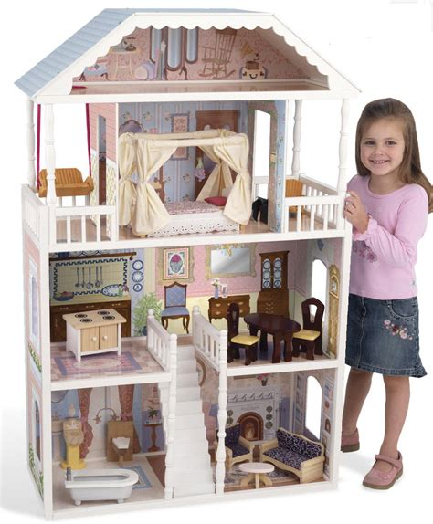 tall doll house kidkraft savannah dollhouse 65023 free shipping