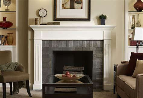 Fireplace Facing Material by Selecting Fireplaces And Mantels At The Home Depot