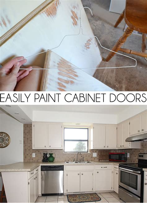 how to easily paint kitchen cabinets you will love inspiration for easily paint cabinet doors diy dream a little bigger