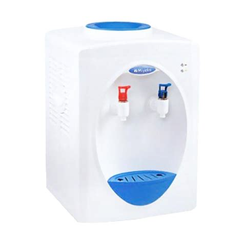 Dispenser Air Miyako jual miyako wd 190 ph water dispenser putih biru