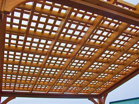 lattice pergola roof wooden pergolas wooden pressure treated pine pricing
