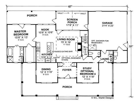 Country House Plans With Open Floor Plan | country home floor plans country homes open floor plan