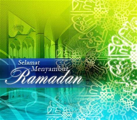 selamat menyambut ramadan wan