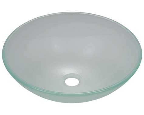 frosted glass vessel sink 602 frosted glass vessel sink