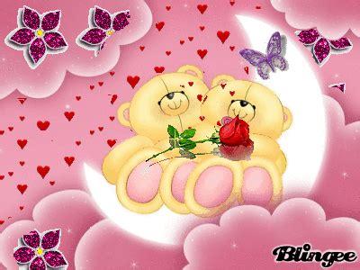 buscar imagenes de amor animadas im 225 genes animadas de ositos con flores y corazones de