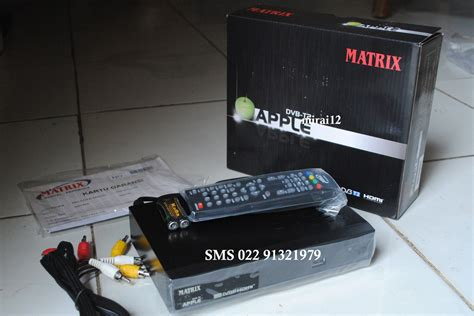 Harga Matrix Apple Dvb T2 matrix apple dvb t2 tv digital terestrial set top box stb