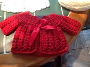 free crochet baby sweater patterns