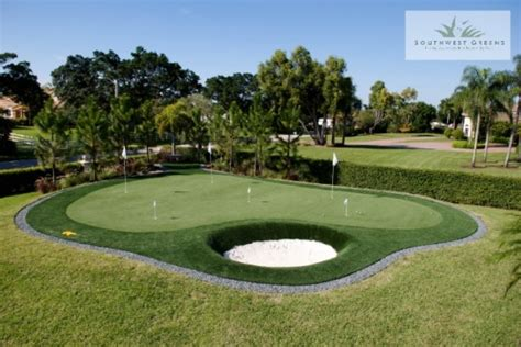 Golf Backyard Artificial Putting Greens Fl Photos