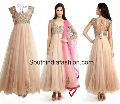 design dress pattern online designer anarkali by anushree reddy south india fashion