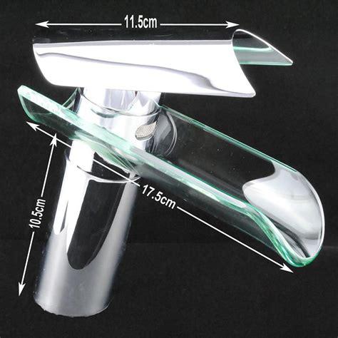 rubinetto cascata rubinetto bacino vetro cascata rubinetto lavandino
