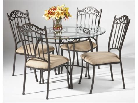 wrought iron glass top kitchen table black wrought iron table and chair sets 48 quot