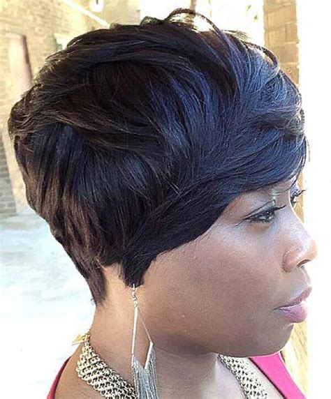 short black hair sew ins sew hot 40 gorgeous sew in hairstyles short pixie bob