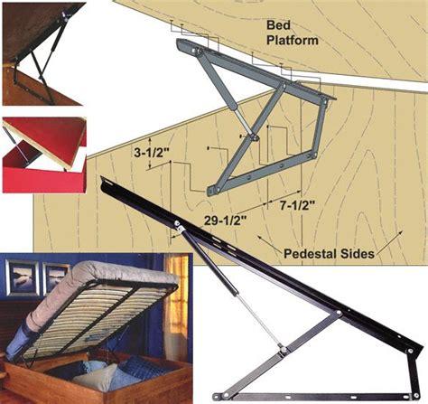 Platform Bed Lift Kit 25 Best Ideas About Lift Storage Bed On Pinterest Bed