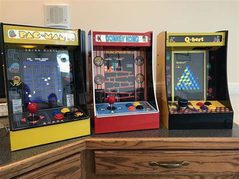 raspberry pi mame cabinet i made mini arcade cabinets running an emulation program