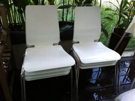 ikea gilbert chair ikea gilbert chairs 8 chairs for 150 sold for sale in