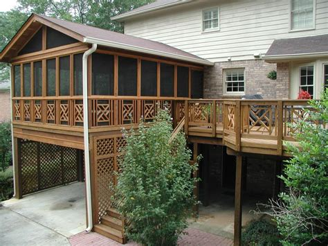 screened porches archadeck of the piedmont triad advises there are 2
