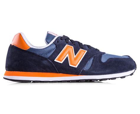 Sepatu Nb Newbalance 373 Navy In Orange catchoftheday au new balance s classics 373 shoe navy orange