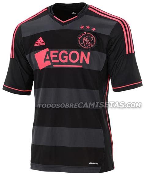 ajax away shirt for 2013 14 season black and pink