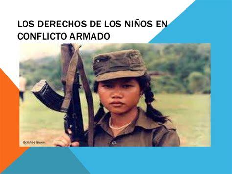 los nios de egb 8415888937 los derechos de los ni 241 os en conflicto armado