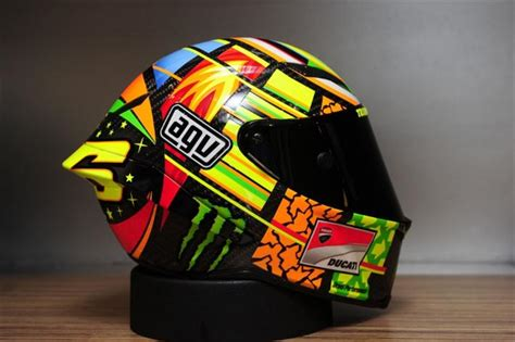 Helm Vr46 Motorcycle For Bikers Helm Agv Terbaru Vr46 Diluncurkan