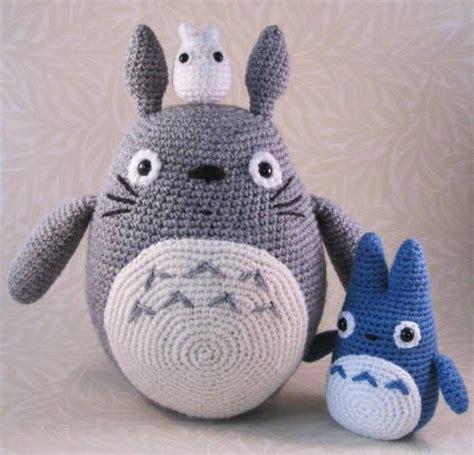 amigurumi pattern totoro 25 best ideas about totoro crochet on pinterest
