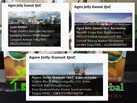 Qnc Jelly Gamat Di Cirebon agen qnc jelly gamat cirebon suplemen qnc jelly gamat