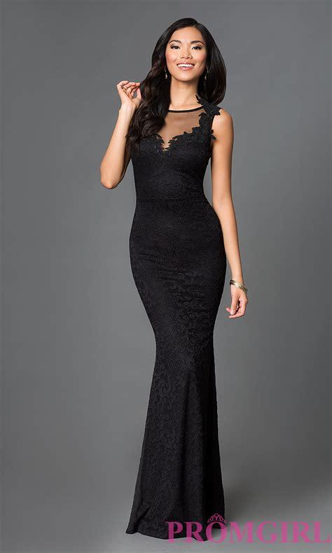 Dress Black black sleeveless prom dress promgirl
