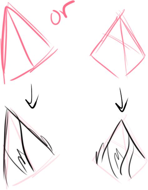 pin by laurence mence on sketches pinterest posts cat ears drawing www pixshark com images galleries