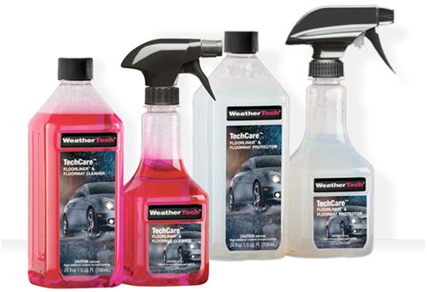 weathertech techcare floorliner cleaner protectant kit for cleaning floor mats