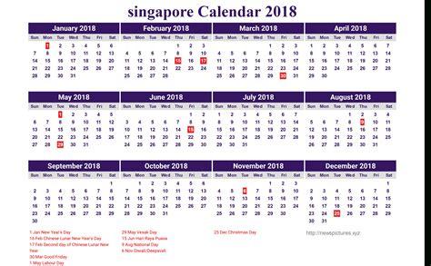 Printable Calendar 2018 Sg | calendar 2018 printable singapore carisoprodolpharm com