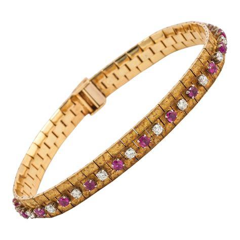 Ruby Burma 2 36 Ct Hq 1965 burma ruby gold bracelet for sale at