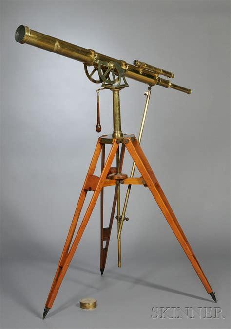 Telescope Floor L by 4 Inch Floor Standing Brass Telescope By A Ross Bidsquare
