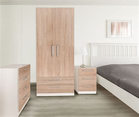 White And Oak Bedroom Furniture by Euston White Oak Bedroom Furniture Wardrobes Bedside